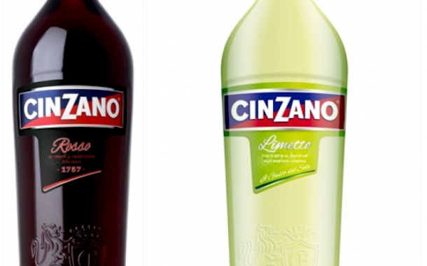 New designs for Cinzano packaging