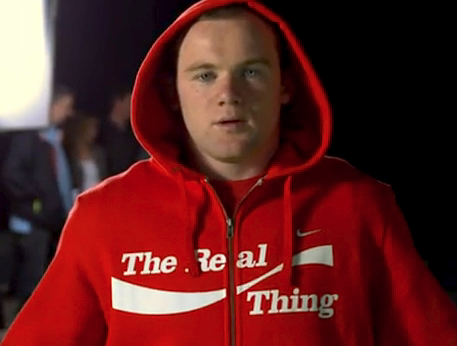 Wayne Rooney and James Corden World Cup dance for Coca-Cola