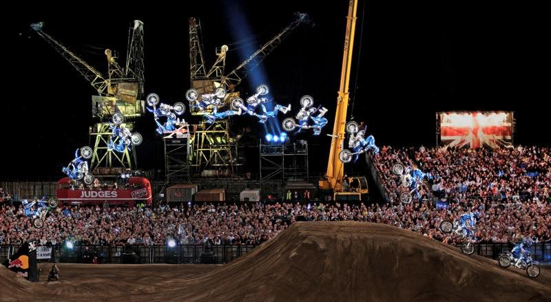 Red Bull X-Fighters return to London