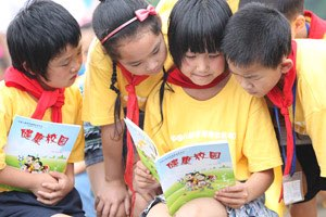 Nestlé Healthy Kids programme for Chinese schoolchildren