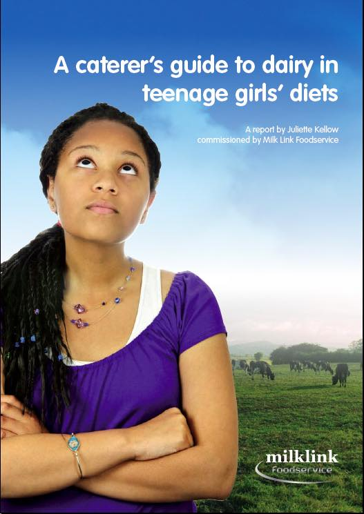 How to help teenage girls eat dairy products