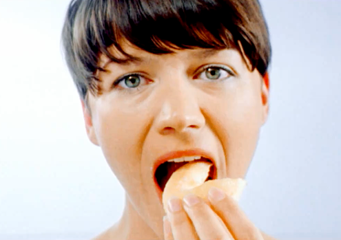 People film themselves eating 'backwards' for viral campaign