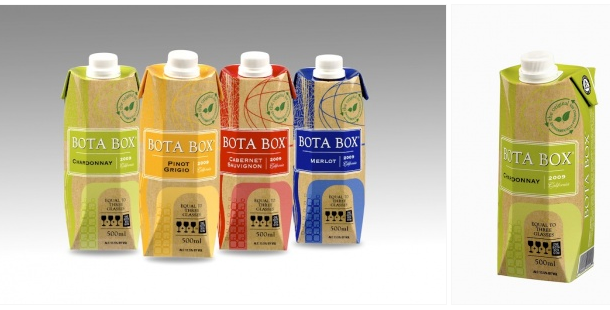 Bota Box wines in 500ml Tetra Pak