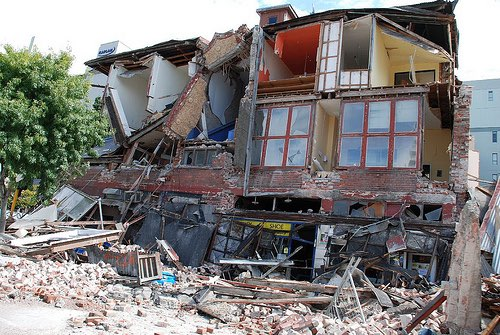Fonterra support for Christchurch earthquake victims