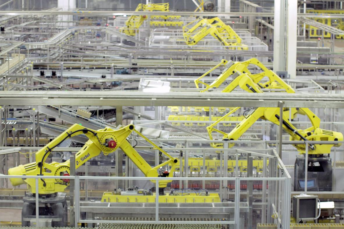 Modelo chooses Sidel for world's largest automated factory