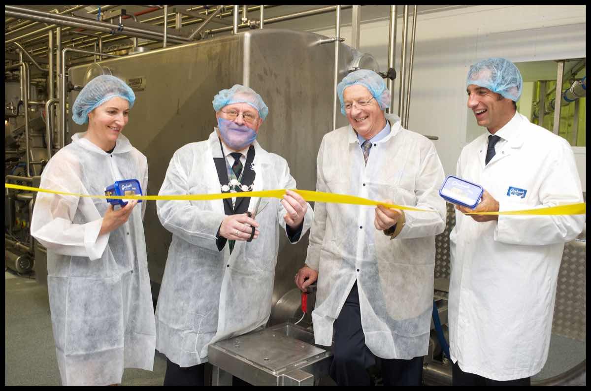 Graham's invests more than £1m in butter plant