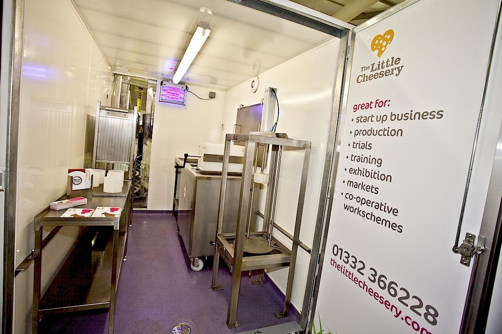 Mobile mini cheesemaking factory is launched
