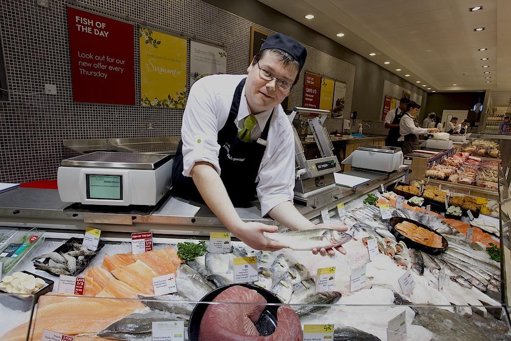 Cheap fish sales are on the rise, says Waitrose