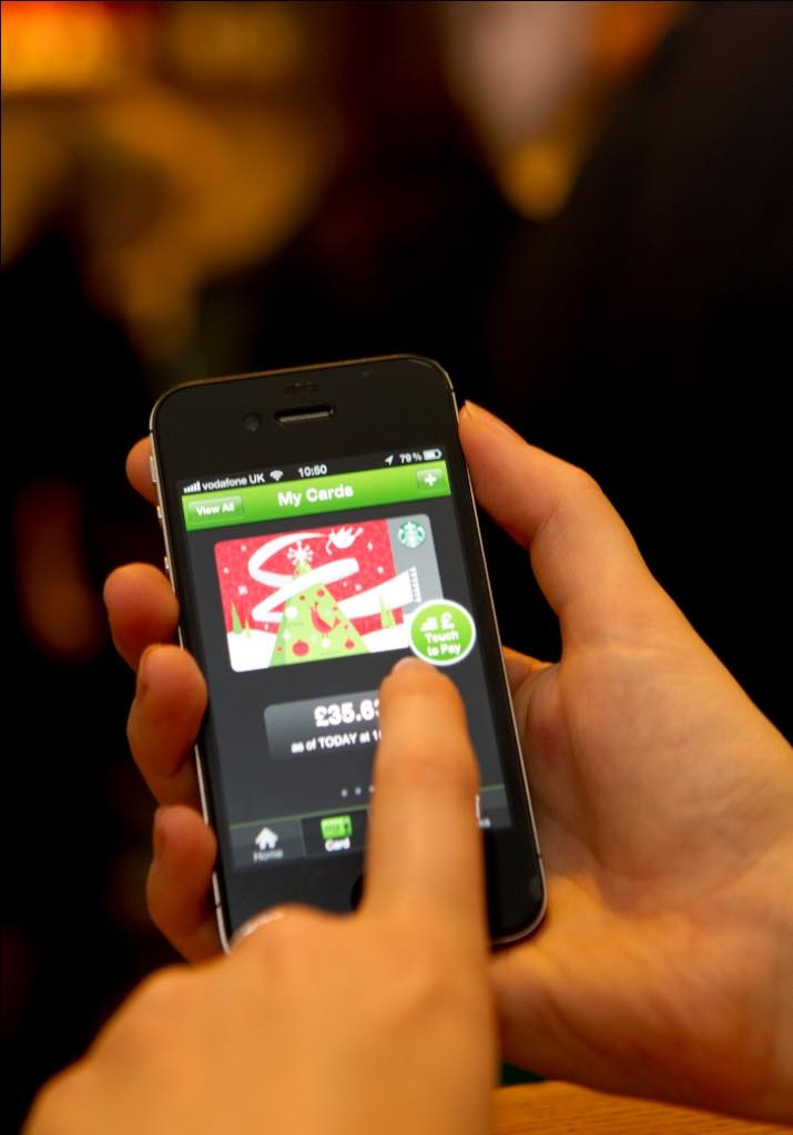 Starbucks launches first one-touch mobile payment app