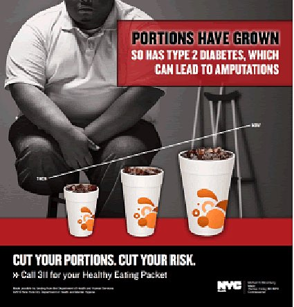Controversial New York ads link soda to amputations