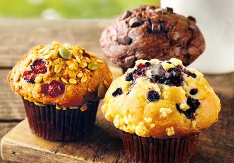 Starbucks UK improves its muffins