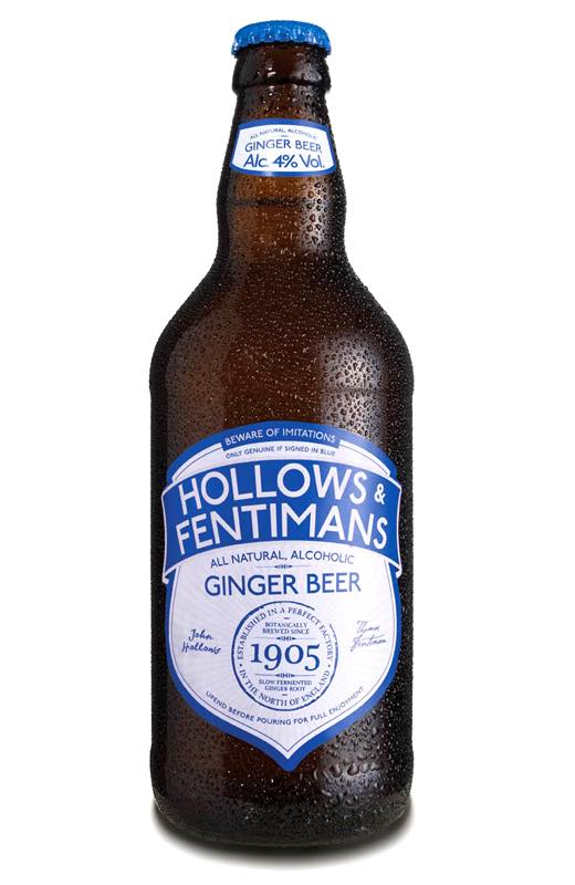 Happy Hollow'een promotion for Hollows & Fentimans Ginger Beer