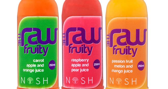 The Raw Fruity cold-pressed juice from Nosh Detox