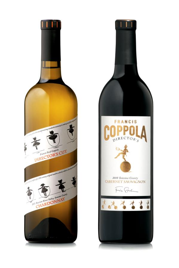 Oscars-themed wines from Francis Ford Coppola Winery