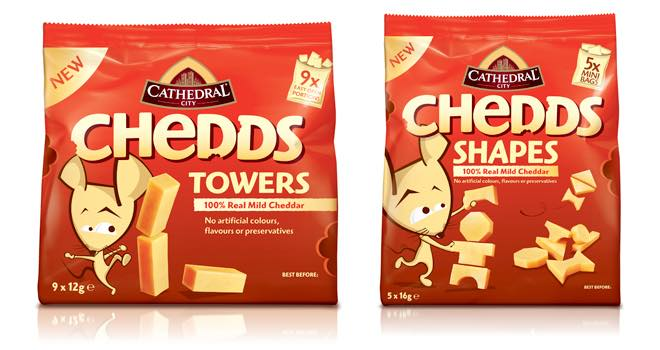 Chedds Shapes and Chedds Towers from Cathedral City