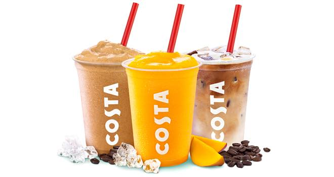 how to make a costa coffee cooler