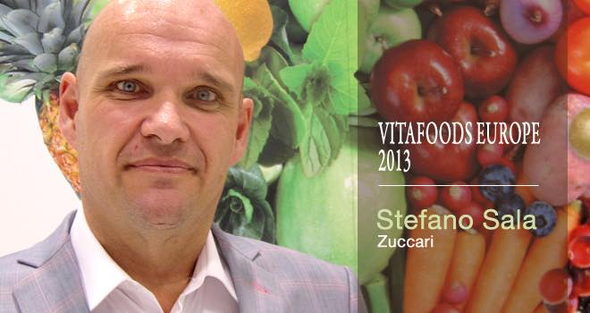 Zuccari's Stefano Sala introduces a new range at Vitafoods Europe 2013