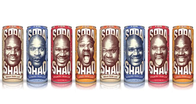AriZona Soda Shaq Cream Soda