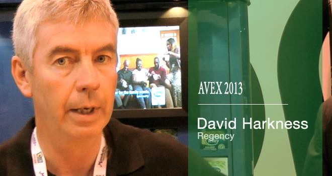 Regency's David Harkness talks about the development of coffee pods