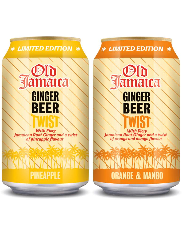 Old Jamaica Ginger Beer adds new flavours to Twist range