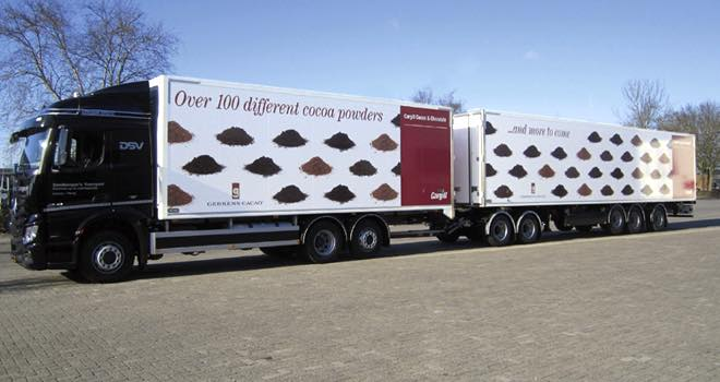 Cargill reduces CO2 emissions with new Eco-Combi trucks