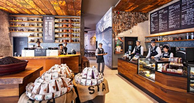 Charming Starbucks Opens New Design Concept Stores In China