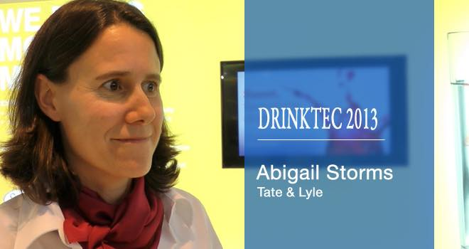 Tate & Lyle introduces Drop By Drop at Drinktec 2013