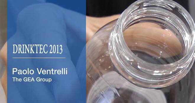 GEA reveals 12g aseptic PET bottle at Drinktec 2013