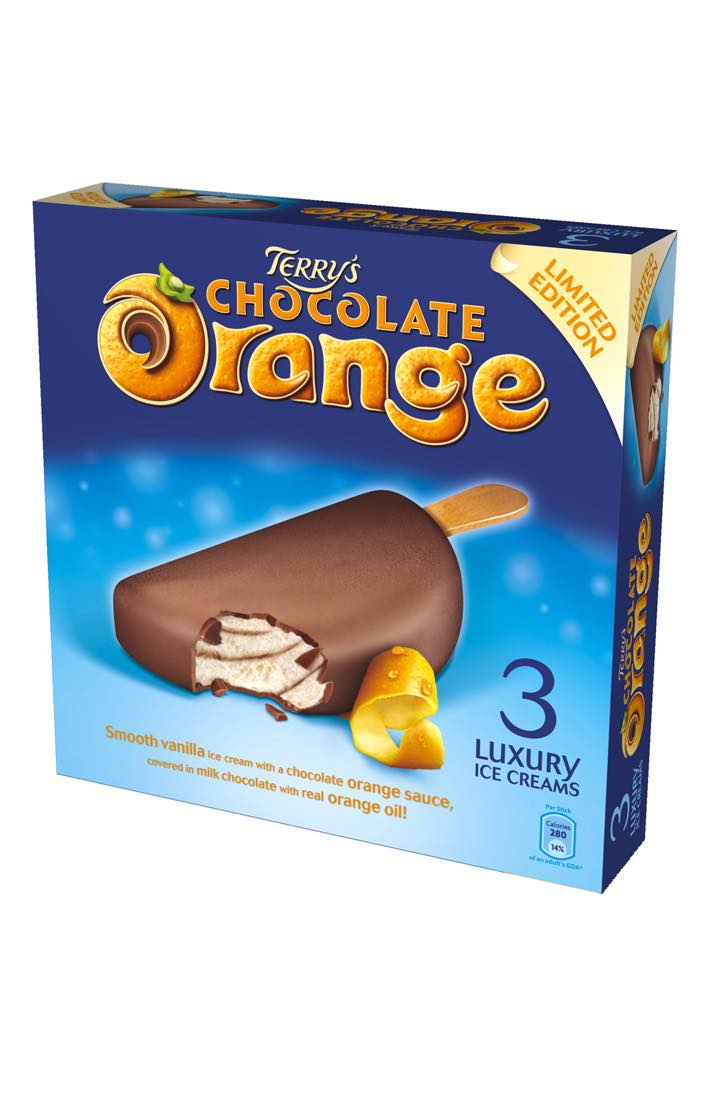 Terry's Chocolate Orange Luxury Ice Creams 3-Pack from ...