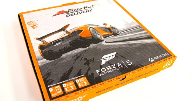 Pizza Hut Delivery uses Blippar augmented reality in Forza 5 tie-in