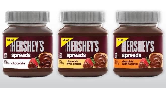 Hershey launches Hershey's Spreads