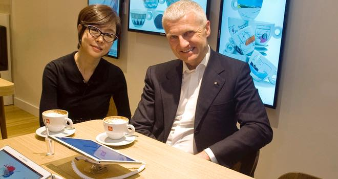 Samsung and illycaffè cooperate on multiyear 'consumer experience'