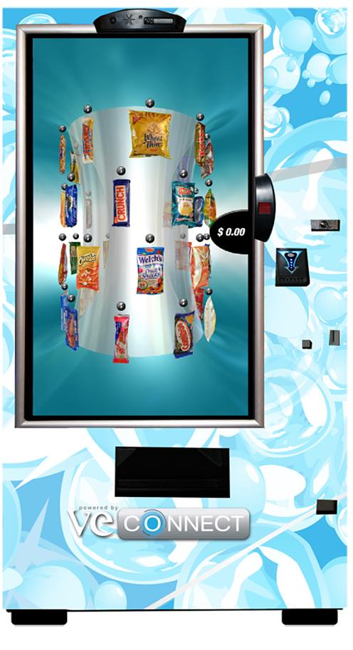 VE Connect touchscreen vending from VE Global Vending