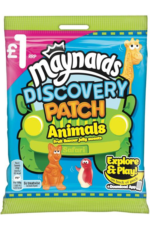 Maynards Discovery Patch Animals