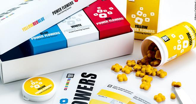 Barry Callebaut launches Power Flowers food colouring system