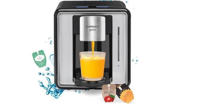 Cuisinart and Bevyz to market premium Multi-Drink System