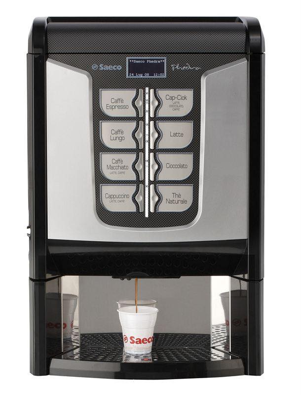 Watermark UK introduces Saeco Phedra automatic bean-to-cup coffee machine