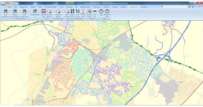 MapMechanics' StreetServicer streamlines high-density delivery planning