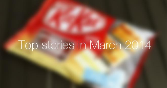 Top 10 stories on FoodBev.com, March 2014