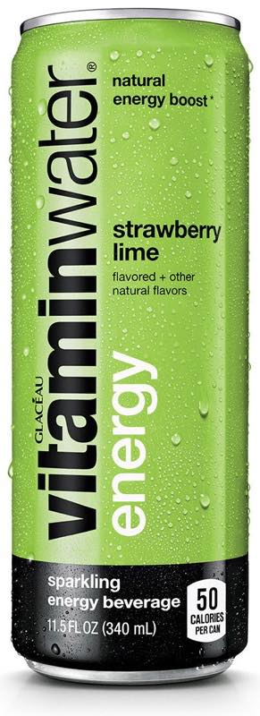 Vitaminwater Energy with green coffee bean extract