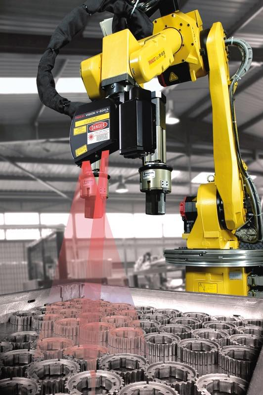 Irvision Integrated Vision Solution Options For Fanuc