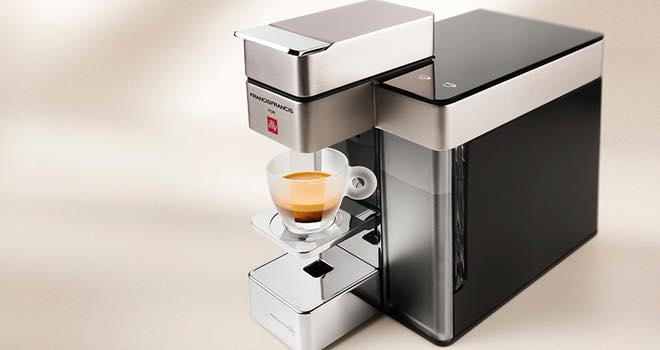 Y5 espresso machine for capsule coffee from illy