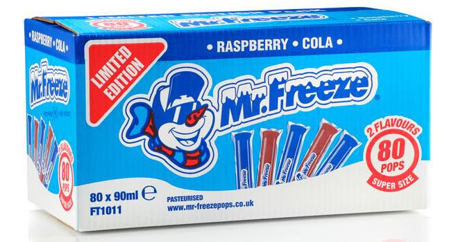 Mr Freeze Launches Limited Edition Bulk Box Foodbev Media