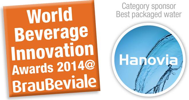 Hanovia sponsors water category of World Beverage Innovation Awards 2014