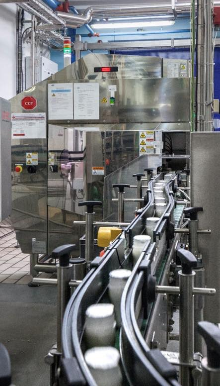 Ishida X-ray provides extra layer of security for Candia bottled baby milk