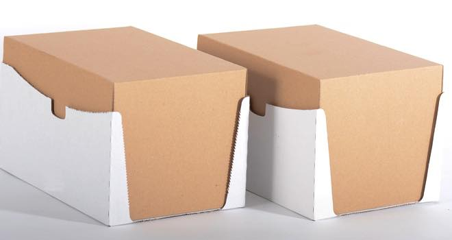TRM successfully trials reverse-cut corrugate packaging technology