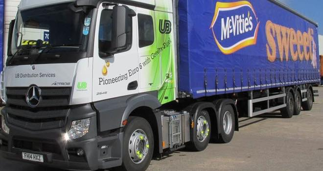 United Biscuits to use waste cooking oil to power lorry fleet