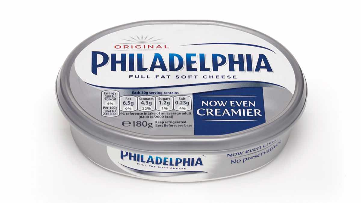 Philadelphia Cream Cheese sets the standard for quality and taste in everything we make.
