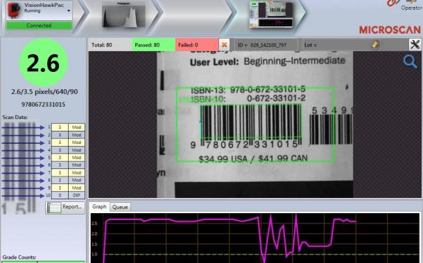Microscan launches Verification Monitoring Interface to grade barcodes