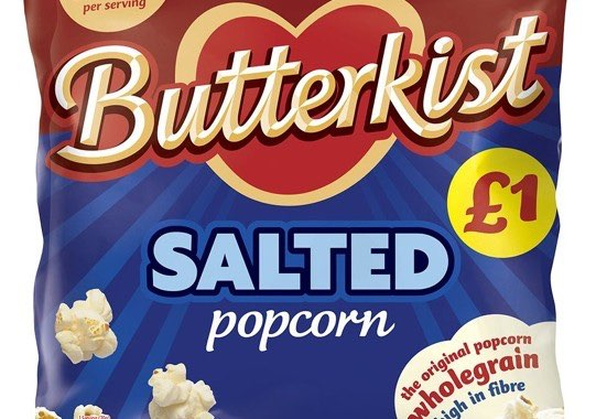 Butterkist launches price-marked packs
